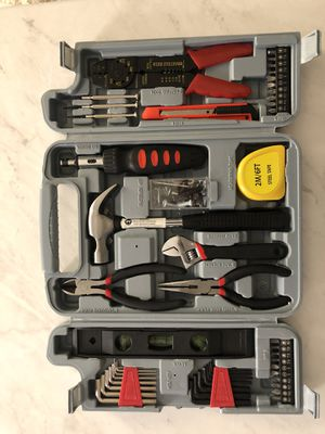 49 piece tool kit with case for Sale in Derwood, MD