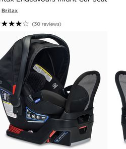 Britax Endeavours Infant Car Seat W/ 3 Bases for Sale in Staten Island,  NY