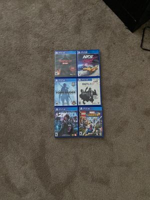Ps4 games for Sale in San Leandro, CA