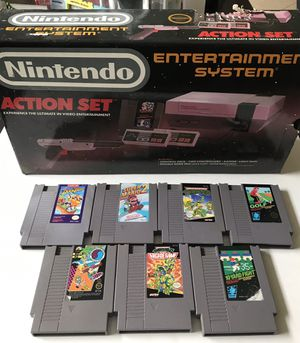 Nes Nintendo in box with games for Sale in Tampa, FL