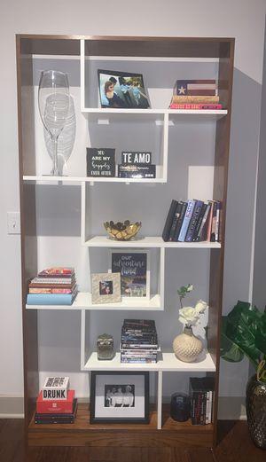 Wooden Geometric Bookshelf for Sale in Grand Prairie, TX