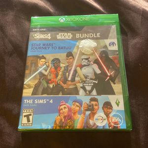 New Sealed Xbox One Sims 4 / Star Wars Bundle for Sale in San Diego, CA