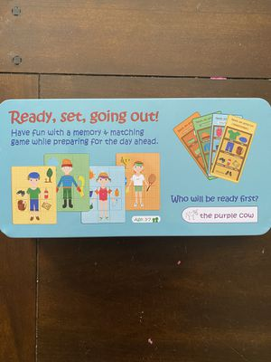 New card matching memory board game for Sale in Downey, CA