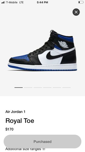 Air Jordan 1 Royal Toe for Sale in Aurora, CO