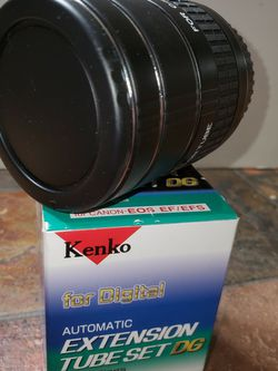 Kenko Extension Tube Set DG for Canon EOS EF/EFS for Sale in West Bloomfield Township,  MI