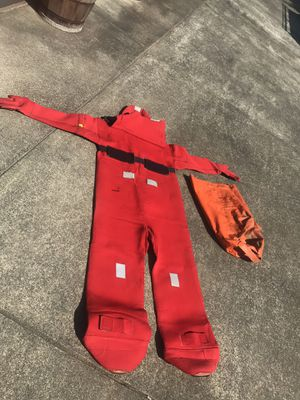 Survival suit for Sale in Hoquiam, WA