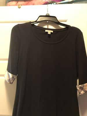 Burberry women shirt size L for Sale in Weston, FL