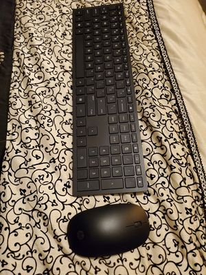 HP wireless keyboard and mouse. for Sale in Fontana, CA
