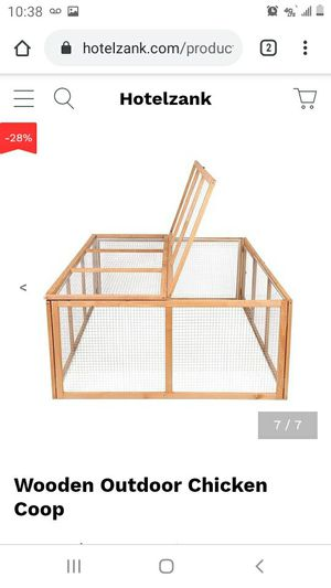 BCP (bestchoiceproducts) Wooden Outdoor Chicken Coop for Sale in Massillon, OH