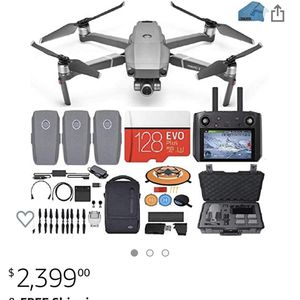 Mavic 2 Zoom + Smart Controller + Fly More Kit for Sale in Gig Harbor, WA
