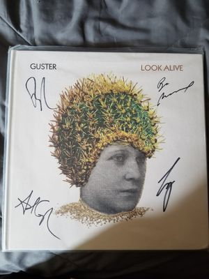 Guster limited signed Clear LP for Sale in Traverse City, MI