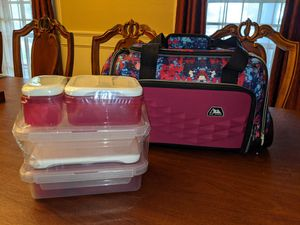 *NEW* AZ PRO Cooler Duffle Bag with Dishes for Sale in Houston, TX