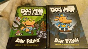 """Dog man book (only the one named """"unleased"""") for Sale in Amarillo, TX"""