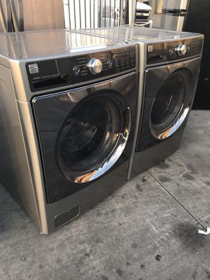 KENMORE ELITE WASHER AND DRYER LIKE NEW CONDITION for Sale in La Habra Heights, CA
