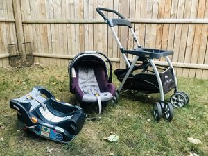 KeyFit Caddy Frame Stroller Safetytroller Car Seat Three (3) Piece for Sale in Washington, DC