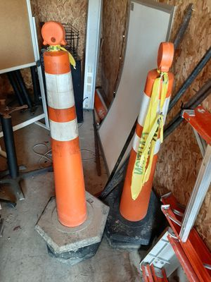 Construction comes I have 5 these are the tall heavy duty for Sale in Newark, OH