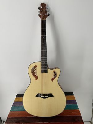 Acoustic Guitar Smiger LG-01 Acoustic Guitar Cutaway High Quality Killer Price Free Deluxe Gigbag for Sale in Winchester, CA