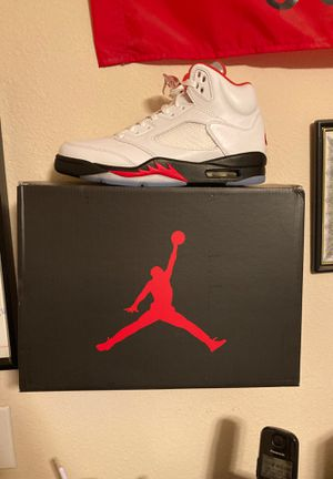 2020 release Fire Red 5's for Sale in Fresno, CA