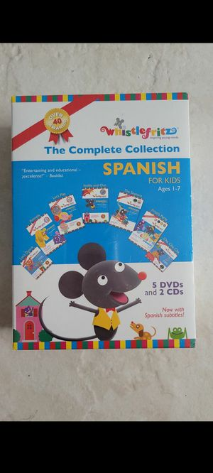 Spanish learning videos for Sale in Hialeah, FL