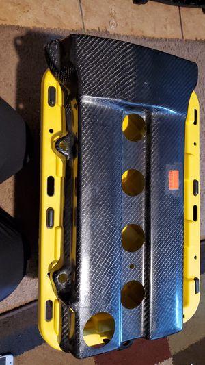 Carbon fiber, valve cover, car part, Honda, Acura, performance, 4 cyl for Sale in San Ramon, CA