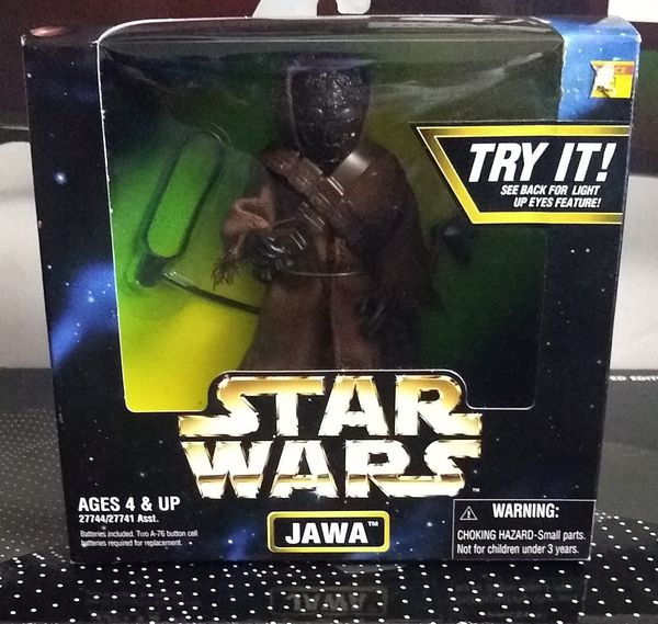 """1997 Star Wars Kenner 6"""" Jawa Action Collection Figure**BRAND NEW**"""