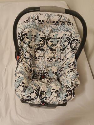 Reversable interior car seat cover + exterior car seat cover/shopping cart cover for Sale in Maricopa, AZ