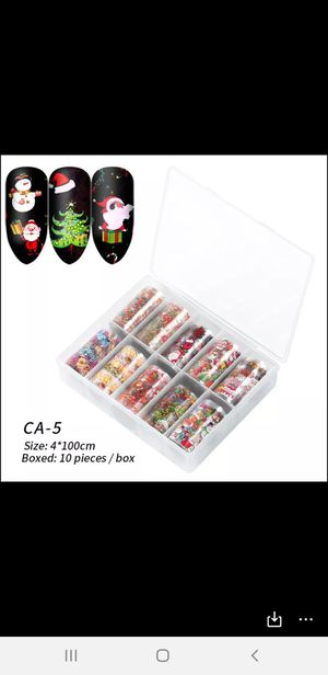 Nails foil navidad for Sale in Bridgeport, CT
