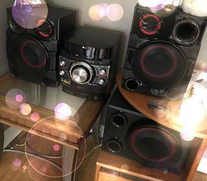 X-BOOM MINI HIFI SYSTEM Home Stereo for Sale in Chicago, IL