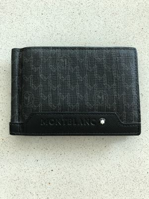 MONTBLANC Wallet 6cc with Money Clip Value Deal Vintage Monogram for Sale in Miami, FL