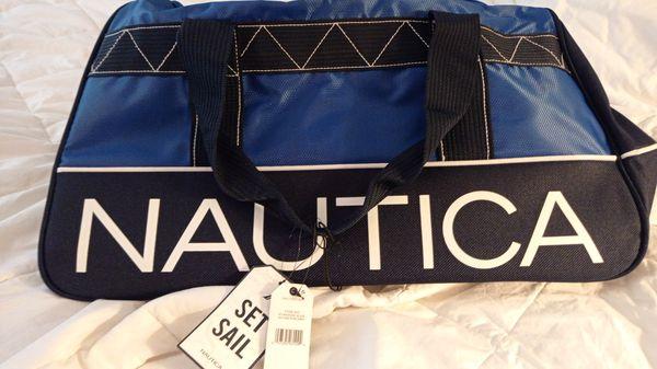 Nautica duffle bag
