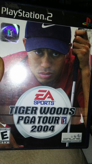 PS2 Tiger Woods PGA TOUR 2004 for Sale in Madera, CA