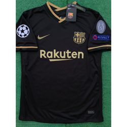 2020/21 FC Barcelona away soccer jersey for Sale in Raleigh,  NC