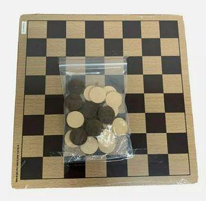 wooden checker board for Sale in Wood Dale, IL