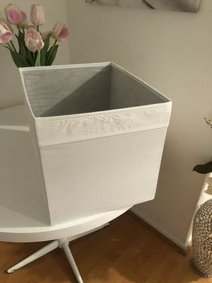 Cubicle boxes new 3.00 each (11) white for Sale in Pasadena, CA