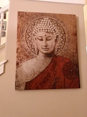 Large Buddha picture for Sale in Roy, WA