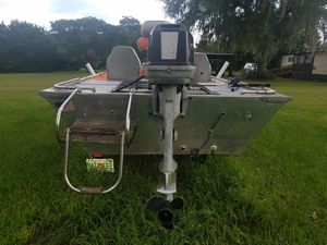 Bass boat 30 horse moter for Sale in Bartow, FL