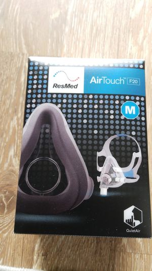 Resmed airtouch f20 Medium full face cpap mask with headgear for Sale in Cocoa, FL
