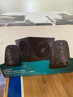 Logitech speakers with subwoofer for Sale in Lansdowne, VA