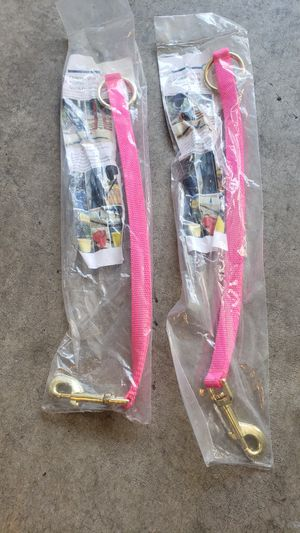 Pink horse bucket straps or trailer ties for Sale in Issaquah, WA