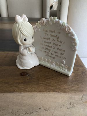 Precious moments serenity prayer girl for Sale in Wesley Chapel, FL