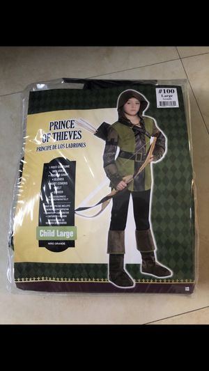 Prince of Thieves Costume Size 10-12 for Sale in Hialeah, FL