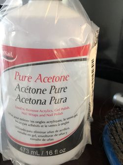 Acetone Never open nail polish remover for Sale in Erie,  CO