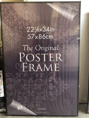 Poster and Wall Frame Black(2) for Sale in Raleigh, NC