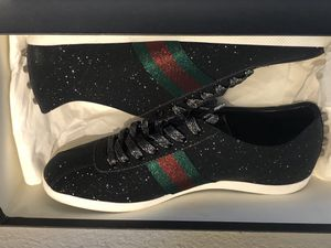 Limited Gucci Black Glitter Shoes Sz 10.5 for Sale in Spring, TX