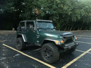2001 Jeep Wrangler TJ * lifted wheels ** for Sale in Bedford Park, IL