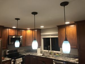 3 pendants lamps for Sale in Woodinville, WA