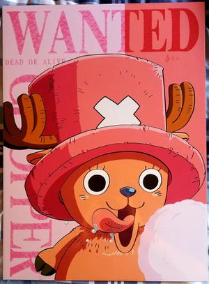 One Piece Tony Tony Chopper Poster for Sale in Bellflower, CA