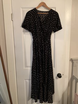 Black and white high low dress for Sale in Riverside, CA