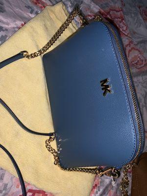 Michael Kors Blue Purse Brand New With Tags Worth $298 take it today for $100 for Sale in Commerce, CA