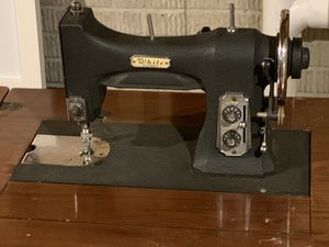 Antique White Rotary Sewing Machine for Sale in Columbus, OH